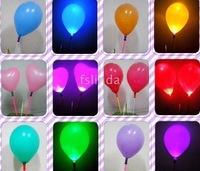 New flash LED Latex Balloon Light,directly blow up Hydrogen, oxygen, etc. from the pole's bottom
