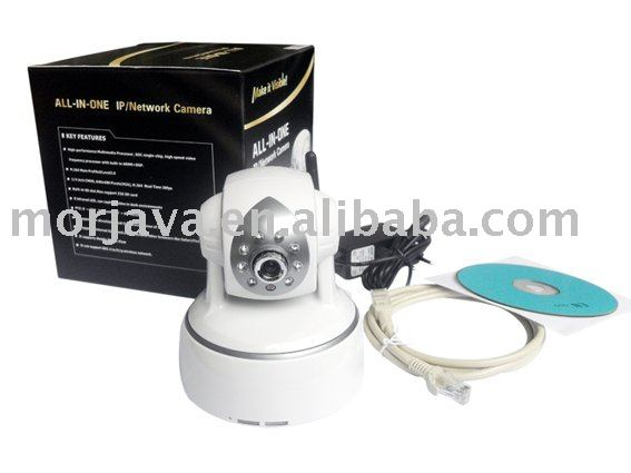 Paypal Free Shipping CMOS H.264 ip camera systems free ddns Support SD Card Visit by Cell phone(Hong Kong)