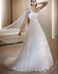 kiki 101717 discount floor-length elegant accept chiffion bridal dresses,bridal dresses 2010(China (Mainland))