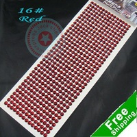 Free shipping Car sticker car decoration Interior Car Accessories 36X14=504 Arylic diamonds wholesale 200cards/lot