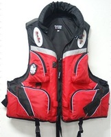 free shipping Fishing special immersion suits, life jackets multi-function pocket life jacket