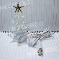 50pcs/lot USB christmas tree LED lighting slow RGB light xmas tree lights Christmas tree
