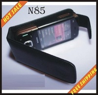 Free shipping --New high quality leather case cellphone for NOKIA N85
