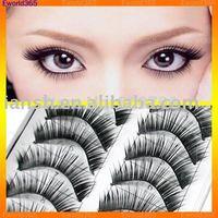 Free Shipping!! HOT! Fashion Natual Thick Long  Fake False Eyelashes,Voluminous Make up Tool,600Pairs