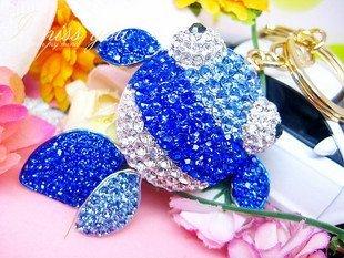 2010 fashion hot sell big gold fish key Chain free shipping  Wholesale 20pc/lot  /mix order