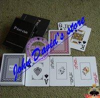 Free shipping Plastic playing Card Poker Club 100% Genuine