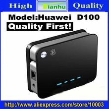 Free Shipping wholesale2pcs/lot Huawei D100 Wireless Router,Support WLAN,USB HSUPA modem-hot sale(China (Mainland))