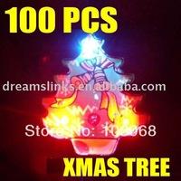 Free Shipping,New 2010 Hot Sale 100 LED Flashing Light XMAS Tree,Christmas Tree