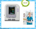 Free Shipping  Color Digital Blood Pressure Monitor with Free SPO2 and free SW