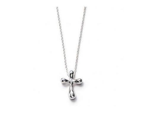 Fashion Jewelry 925 sterling silver cross pendant necklace free shipping xl31