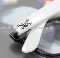 Free Shipping+ ! Unisex skeleton New fashion eyeglasses