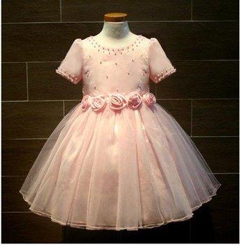 k1495 Little queen flower girl dress,Kids dress and flower girls dress,Fashion flower girl dress