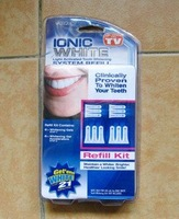 Wholesale - 50pcs WHITE LIGHT TOOTH WHITENING SYSTEM IONIC TEETH WHITELIGHT IONIC WHITE !!!!