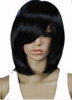 Ms. pop straight black wig Free shipping