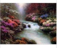 Thomas Kinkade modern oil paintings Guaranteed 100% Free shipping 003