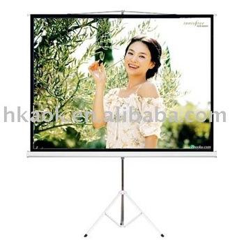 Tripod LCD Projector Screen