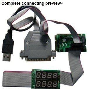 Computer Mainboard POST Diagnostic Card 8 Bits with MiniPCI-E+MiniPCI+LPC+LPT Bus for Laptop or Desktop PC, Brand: QiGuan