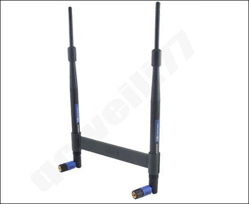 free shipping Bracket WRT54G+ LINKSYS HGA7T 7dbi TNC Antenna Kit 383(China (Mainland))