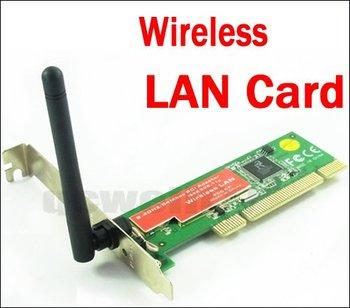 free shipping WiFi PCI Wireless 802.11g Network LAN Card Desktop Q390