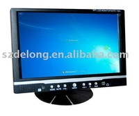 "7""stand lcd touchscreen VGA monitor"