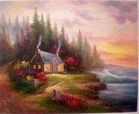 Beautiful modern oil paintings Guaranteed 100% Free shipping6