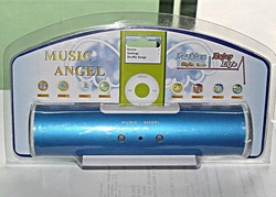 mini music angel speaker for mp3 mp4 mp5 - 5 colors for choose 15pcs/alot(China (Mainland))