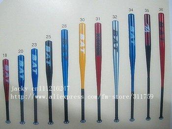 Free shipping baseball bat aluminium alloy baseball bat   sports 52mm 18-34inch
