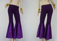 10pcs/Lots  Yoga Belly Dance Twinkling Fishtail Flared Pants