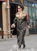 (CD-004)free shipping brand new fashion women's faux shearing fur coat of Europe and America original order with guaranteen 100%