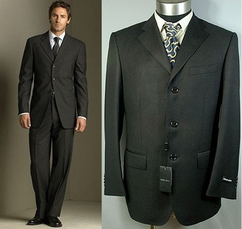 dress suits Western style Suits size : 46-60/any size59 Men's business suit