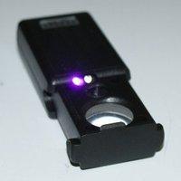 60X & 30X UV LED Jewelry Eye Glass Magnifier Loupe Lens