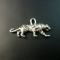 160 pcs/lot alloy jewelry components charms(tiger) Free shipping