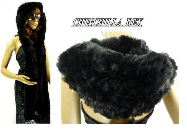 free shipping -fashion rabbit fur muffler ,fur shawl, fur Costume , japan's fashion design ,top quality(China (Mainland))