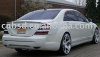 06-10 Mercedes Benz S Class W221 L Style Fiber Glass Trunk Spoiler Lip Body Kit