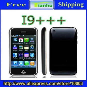 Free shipping Hotsale !!!!!!!! discount i9+++ i68 mobile phone Touch Screen MP3