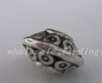 S9400 Tibetan Silver Flying bead Jewelry  Spacer Beads