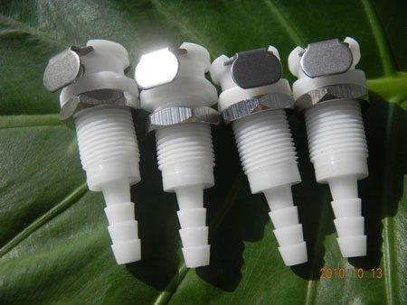"""3/16 """" POM NBR plástico samll liberação rápida corpo de acoplamento(China (Mainland))"""