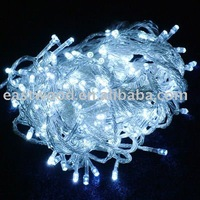 Free Shipping 10pcs/lot  10M 100 LED White String Fairy Lights for wedding Party decorate, Christmas LED light +Wholesale
