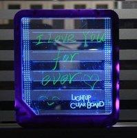 Free Shipping! Wholesale Korea style romantic fluorescent memo LED panel, LED screen, LED writing board, LED display LED board!!