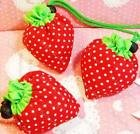 5 Pieces X Strawberry Reusable Shopping Bags, Waterproof & Free Shipping(China (Mainland))