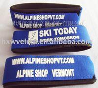 Free Shipping+ Custom Logo Velcro ski ties