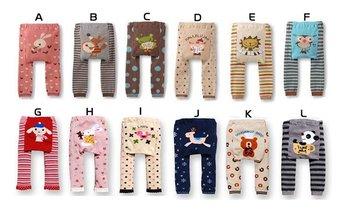 180pcs/lot free shipping via dhl  sweet kids Leggings toddler Tights pants Baby leg warmer babys PP Pants
