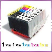 5 ink cartridge for HP564 HP 564 564XL B8550 B8553 C6300 C6380 C6383 D5460 D5463 D7560 C6300 C6340 C6350 HP364 HP 364