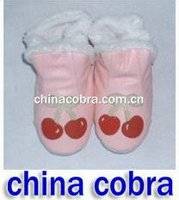 free shipping christmas gift leather baby boots