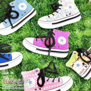 EMS free shipping novelty office product 100pcs/lot shoes shape notepad, mix-colors(China (Mainland))