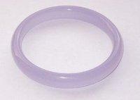 Purple Violet Natural Jade Bangle Bracelet shipping free