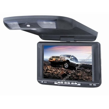 "10.4"" roof Mount DVD DVD Player with USB, SD, IR, FM transmitter and 32 bit wireless game"