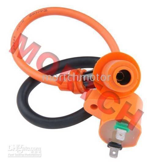 High Performance Ignition Coil + Cap Spark Plug GY6 50cc 125cc 150cc Scooter ATV(China (Mainland))