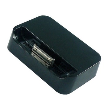 Black and white Dock Cradle Charger Station for Apple IPHONE 4 4G