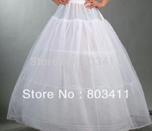 Wholesale and Retail High Quality Wedding Dress Petticoat Crinoline(China (Mainland))